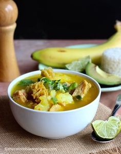 Mondongo Colombiano (Pork, Tripe and Chorizo Soup) My Colombian Recipes, Colombian Cuisine, Cuban Recipes, Chorizo Soup, Honduran Recipes, Comida Latina, Using A Pressure Cooker, Cooking Recipes, Healthy Recipes