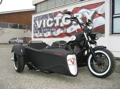 2013 Victory High-ball with custom side car  I need this for mine!