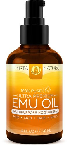 InstaNatural's Ultra-Premium Emu Oil is a 100% pure and fully refined oil. This oil is rich in unsaturated fatty acids, which provide unmatched moisturizing benefits to the skin and hair.