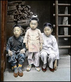YES, I KNOW MY PANT LEG IS HANGING OPEN...WHAT ABOUT IT ? -- Middle-Class Friends in OLD CHINA, Back in 1916 | by Okinawa Soba (Rob)