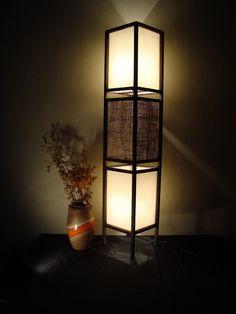 Led Floor Lamp, Modern Floor Lamps, Japanese Bedroom, Tv Unit Decor, Cozy Nook, Lampshades, Lighting Design, Table Lamp, Interior Design