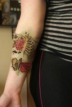 Beautiful until death do us part - 50 Eye-Catching Wrist Tattoo Ideas  <3 <3
