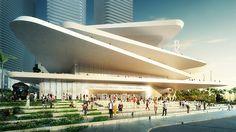 FR-EE / Fernando Romero EnterprisE divulga Museu de Arte Latino-Americana em Miami