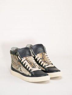Giacomorelli Studded sneakers $562.23