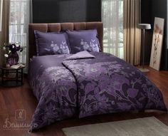 Купить постельное белье SONGE фиолетовое 1,5-сп от производителя Tac (Турция)