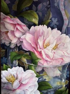 1/23/16 Hi Maureen' I'm very late tonight' I luv watercolor paintings, it's my favorite medium. I thought you might this to hang on your wall somewhere. It's a particularily pretty one I think. Hope you like it' xoxo                     'Pamela Sackville WATERCOLOR