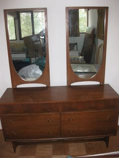 Before And After Broyhill Brasilia Dressers