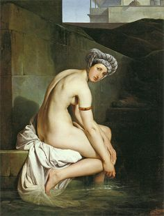 "Francesco Hayez (Italian, 1791-1881), ""Bathsheba"" 