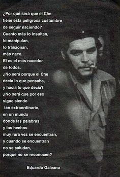 Eduardo Galeano (Sobre El Che)