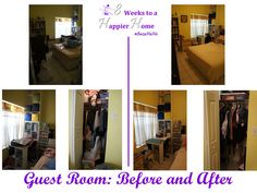 Guest Room: Before and After