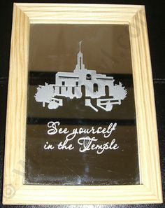 LDS Young Women: See Yourself in the Temple Craft