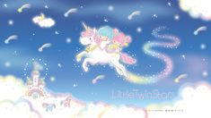 Little Twin Stars Little Twin Stars, Little My, Wallpaper 2016, Star Wallpaper, My Little Unicorn, Hello Kitty Images, Star Cloud, Meteor Shower, Sanrio Characters
