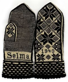 Nordic Thoughts: Selma's mittens