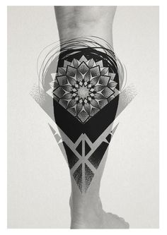 #tattoo #warszawa #warsaw #mandala #geometria #dotwork #kropki #pointallism #blackwork #geometry