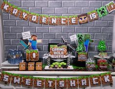 "Minecraft / Birthday ""Minecraft Party"" | Catch My Party"