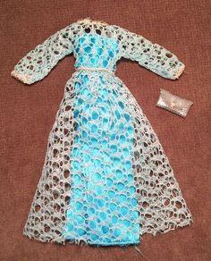 Vintage Barbie Francie Mod Doll Clothes Twilight Twinkle Gown 1971 Silver Purse | Dolls & Bears, Dolls, Barbie Vintage (Pre-1973) | eBay!