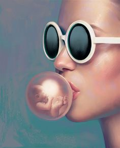 Poetic Digital Illustrations by Aykut Aydogdu - Aykut Aydoğdu is a Turkish artist and graphic designer that produces gorgeous surreal artworks with hidden meanings and thought-provoking visual metaphors. More digital art via Design You Trust - Portrait Illustration, Illustration Sketches, Art Sketches, Art Drawings, Surreal Artwork, Visual Metaphor, Foto Art, Artist Painting, Surrealism Painting