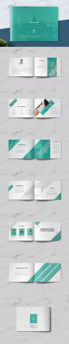 Multipurpose Business Catalog / Brochure Template InDesign INDD A4 and US Letter Size