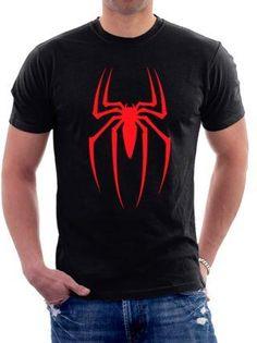 Spider-Man T-Shirt - Cool Shirts - Ideas of Cool Shirts - Superhero Tshirt, Spiderman Shirt, T Shirt Art, Unisex Fashion, Mens Fashion, Printed Shirts, Tee Shirts, Geile T-shirts, Personalized T Shirts