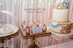 Cinderella Cake Pops at Ella's Cinderella Sweet Table - Candee Couture Dallas, Texas