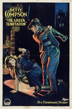 """The Green Temptation"" (1922) ~ Bizarre Los Angeles"