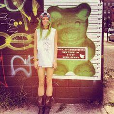 Me  @jessicahorwell found my twin the other day in Brooklyn  - @chloenorgaard- #webstagram