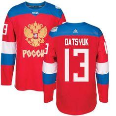 Team Russia  13 Pavel Datsyuk Red 2016 World Cup Stitched NHL Jersey Nhl  Hockey Jerseys baf5181e5