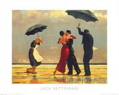 Jack Vettriano - The Singing Butler