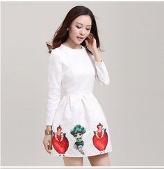 vestidos coreanos casuales de invierno - Buscar con Google