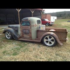 Old school Rat Rod Pick Up.