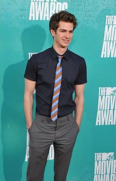 andrew garfield! cannot wait to see him in Spiderman ^_^