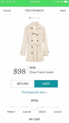 Dear Stitch Fix stylist, I NEED this for winter!! Thanks, Melissa ❤️