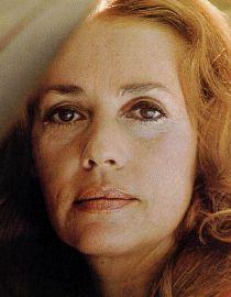 Jeanne Moreau; unadorned beauty.