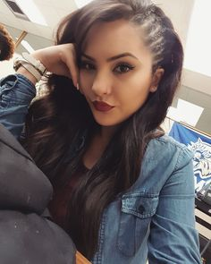 Cornrow side braids Instagram- lilbellla Fb- Isabella Tovar