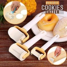 A person who is passionate about cooking understands how tedious it can be to make the perfect dish and this is just as true for baking. Thanks to this Rolling Crimped Cutter you can cut away dough evenly and beautifully in one simple motion! Cooking Gadgets, Cooking Tools, Cooking Beef, Cooking Equipment, Cooking Utensils, Cooking Classes, Cooking Time, Cool Kitchen Gadgets, Cool Kitchens