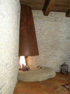 Caminetto in pietra n°33