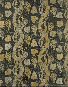 Furnishing fabric | Mariano Fortuny | Venice | 1927 | printed velvet | Victoria & Albert Royal Museum | Museum No.: T.131-1977