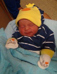 primer dia de nacido.