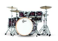 Gretsch Drums Catalina Maple Series 7 Piece Rock Shell Pack Deep Cherry Burst