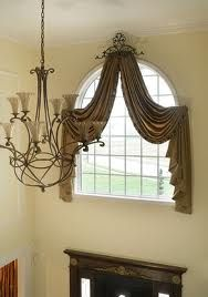 arched windows curtain ideas - Google Search