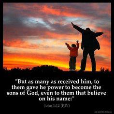 John 1:12 KJV