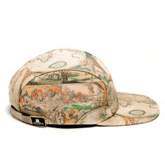 MOUPIA X Shoop Old Map 5 Panel Hat