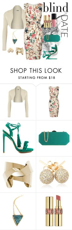 """""""What to Wear: Blind Date"""" by lacehearts58 on Polyvore featuring WearAll, Lipsy, Privileged, Chiara P, Loushelou, Yves Saint Laurent, Lancôme, women's clothing, women and female"""