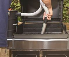 5 gallon ash vac with seperator bucket