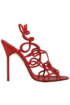 Shoes really are works of art!! <3 Manolo Blahnik
