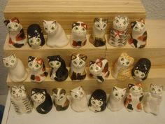 THIMBLES IN THE FORM OF CATS