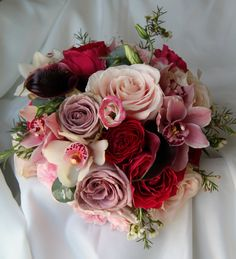The Flower Magician Beautiful Late Summer Wedding Bouquet