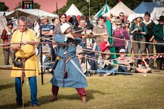 12th Century Archer vs. crossbow man at the 2012 History Alive: A Journey Through Time. Photo by Jeff Fitzpatrick.