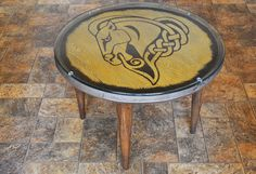 It's a Skyrim (Whiterun) shield AND coffee table