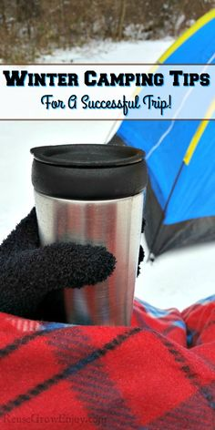 Thinking about taking a winter camping trip? While many campers tend to think of the spring, summer and fall months as the best time to camp, don& overlook the beauty of winter camping! Check out these winter camping tips for a successful trip! Kids Camping Chairs, Camping With Kids, Tent Camping, Outdoor Camping, Couples Camping, Outdoor Life, Camping Checklist, Camping Hacks, Camping Stuff